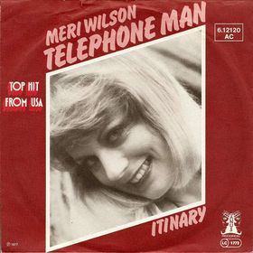 telephone man single cover