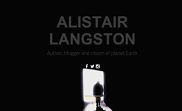 alistair langston author website